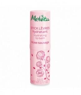 Melvita - Stick lèvres hydratant Rose Sauvage - 3,5 gr