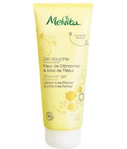 Melvita - Gel douche fleur de citronnier et miel de tilleul - 200 ml