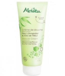 Melvita - Crème de douche fleur d'amandier et miel de tilleul - 200 ml