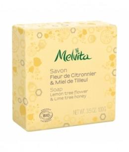 Melvita - Savon Fleur de citronnier et miel de tilleul - 100 gr