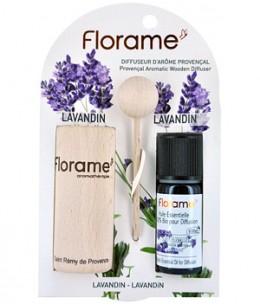Florame - Diffuseur d'arôme provençal+ HE lavandin bio - 10 ml