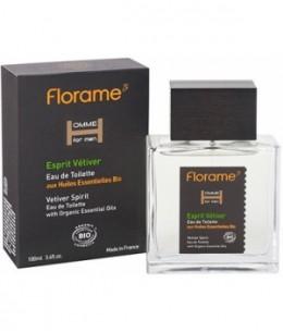 Florame - Eau de toilette Homme Esprit Vétiver - 100 ml