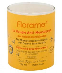 Florame - Bougie anti moustiques et mouches - 170 gr