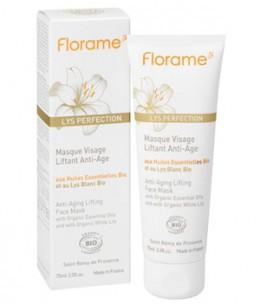 Florame - Masque visage liftant anti âge au Lys blanc - 75 ml