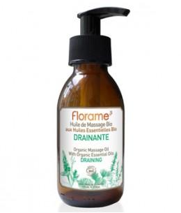 Florame - Huile de Massage Drainante - 120 ml