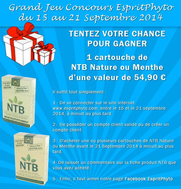 Jeu concours NTB