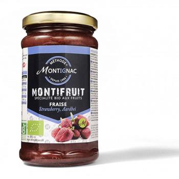 Confiture Montignac Fraise Bio