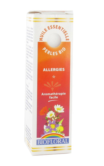 Biofloral - Perles D'Huiles Essentielles Bio Complexe Allergies - 20 Ml