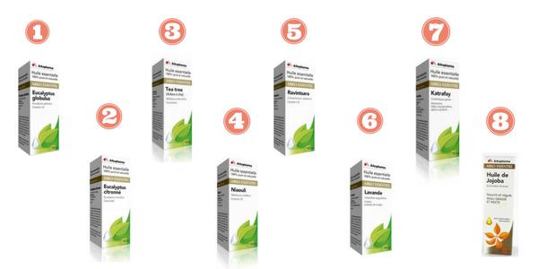huiles essentielles Arkopharma