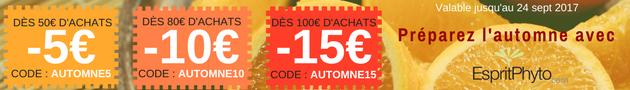Jusqu'à -15€ sur votre prochaine commande