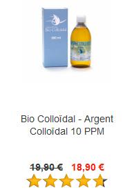Argent Colloïdal 10 PPM