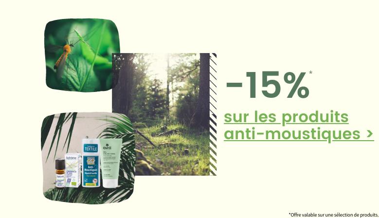 -15% sur les produits anti moustiques