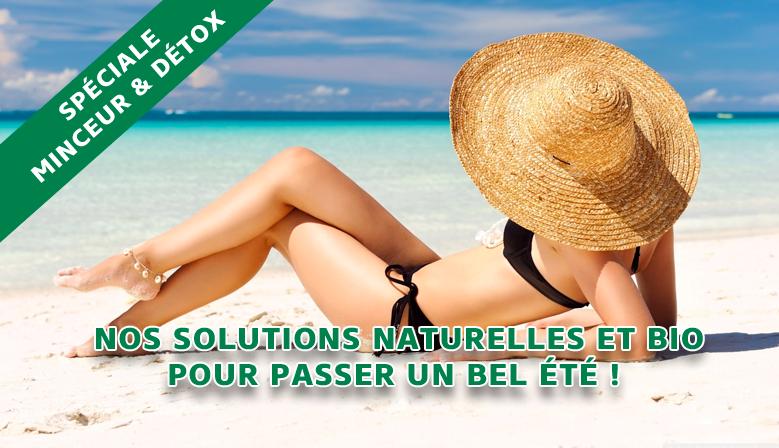 Nos solutions naturelles et Bio pour passer un bel été !