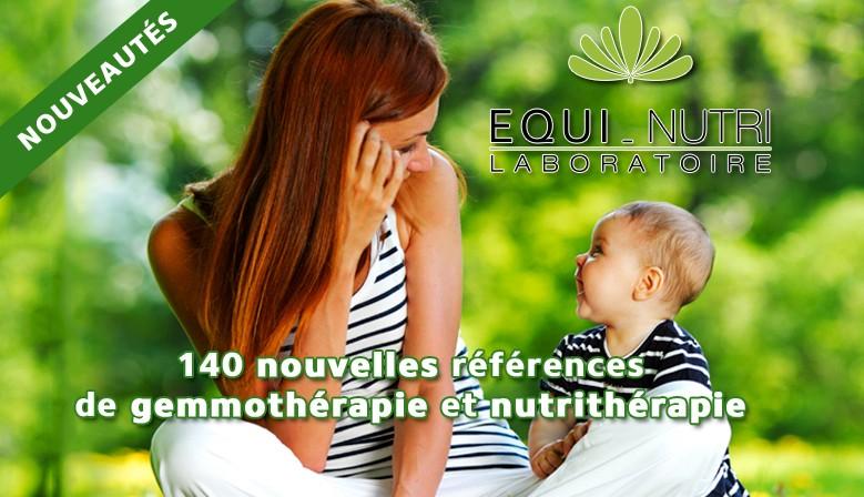 Equi-Nutri, 140 nouveautés en gemmothérapie et nutrithérapie